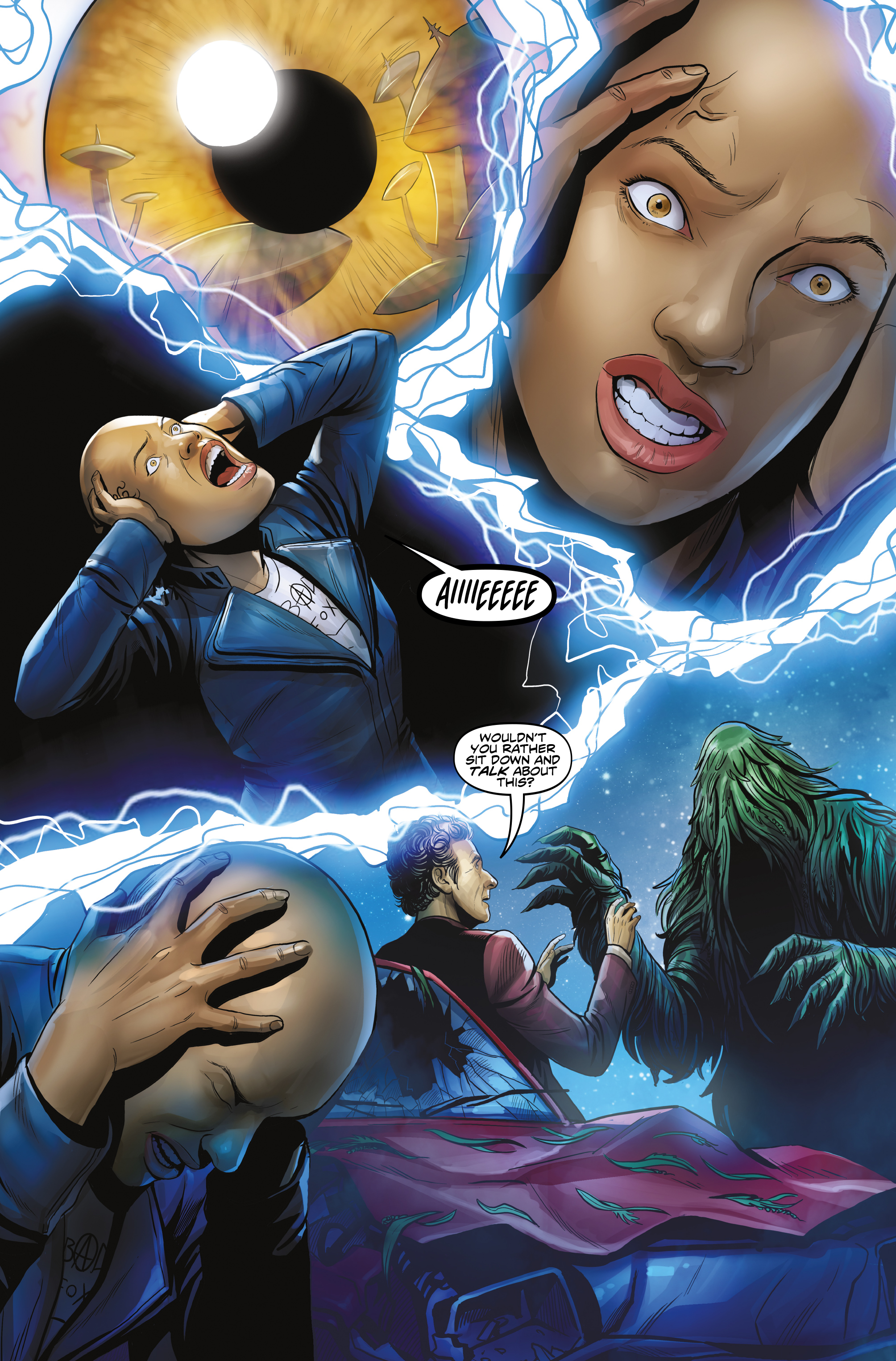 Read online Doctor Who: The Twelfth Doctor Year Three comic -  Issue #3 - 6