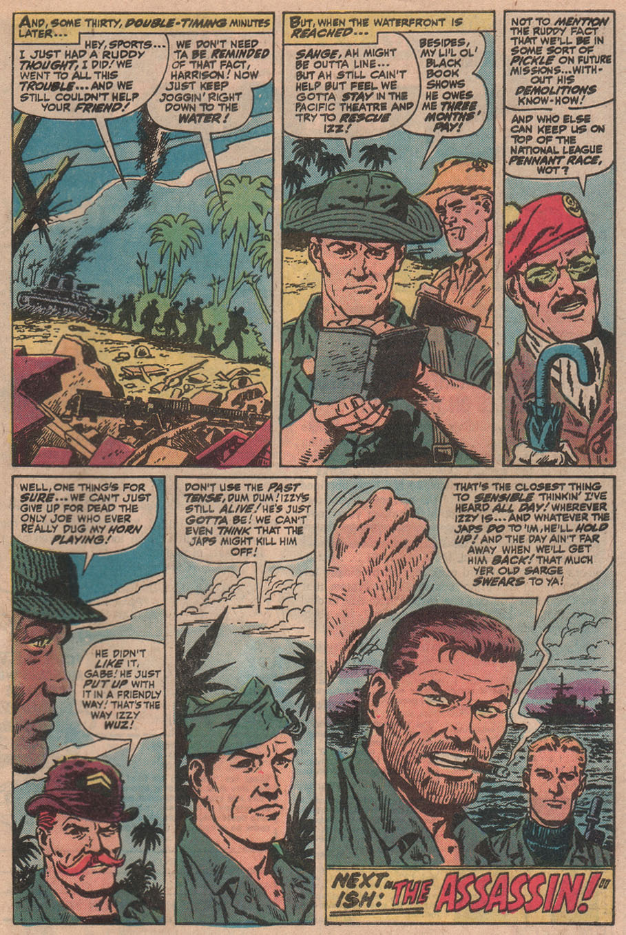 Read online Sgt. Fury comic -  Issue #145 - 33
