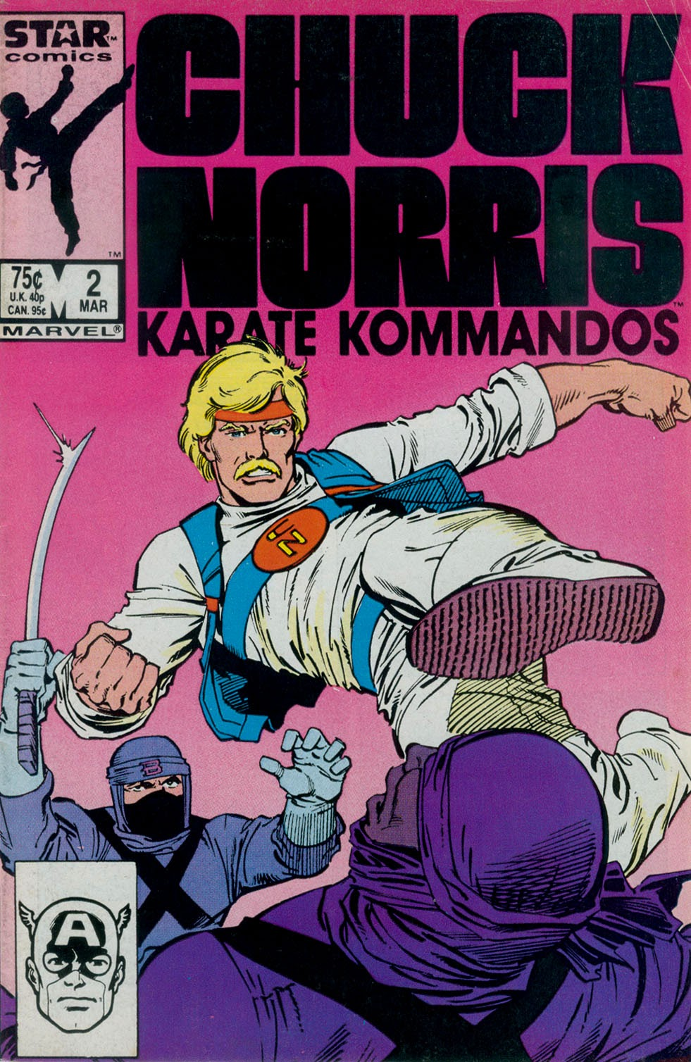 Chuck Norris and the Karate Kommandos 2 Page 1