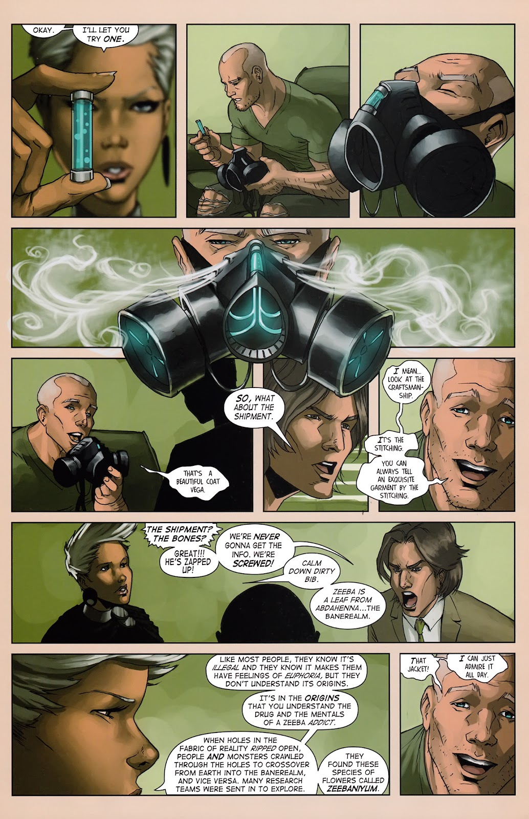 Read online Vescell comic -  Issue #3 - 18