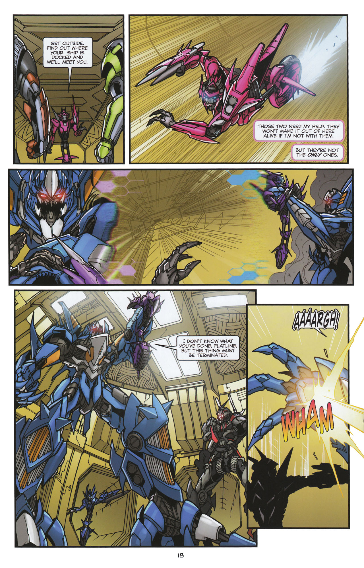 Read online Transformers: Tales of The Fallen comic -  Issue #6 - 20