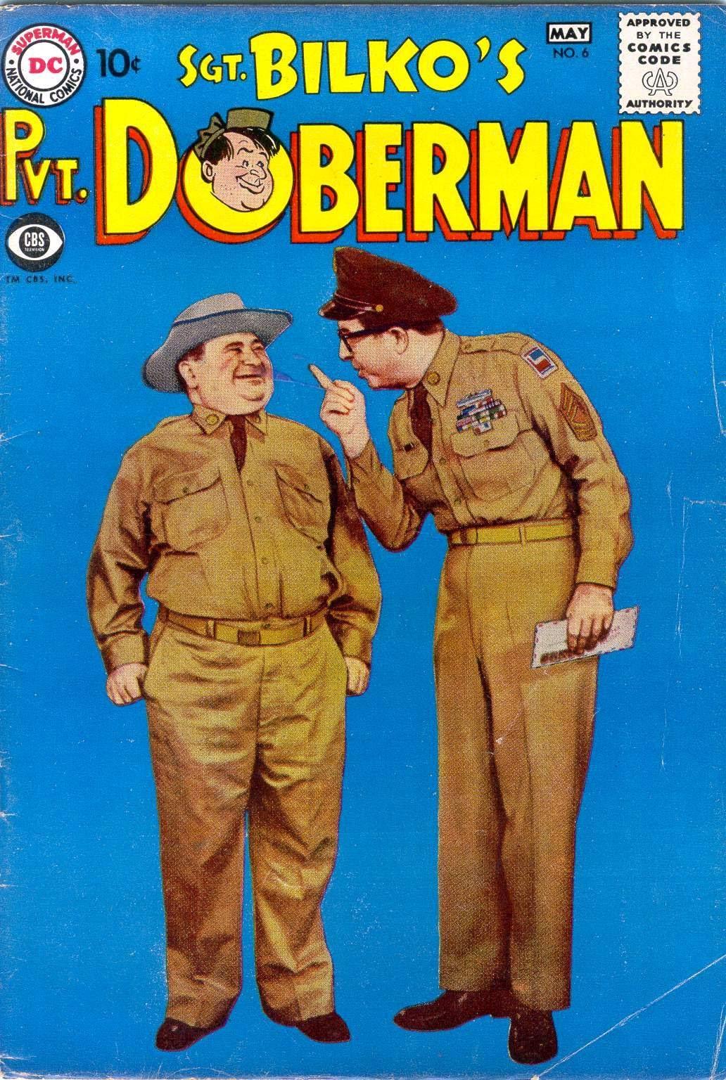 Sgt. Bilko's Pvt. Doberman issue 6 - Page 1