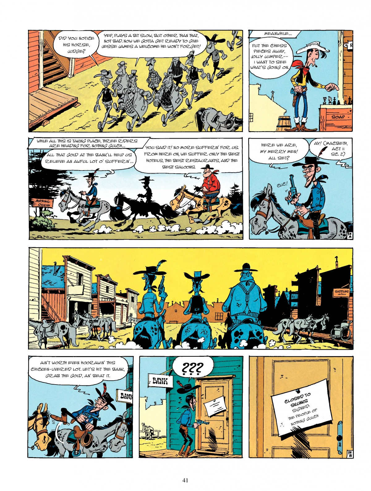 Read online A Lucky Luke Adventure comic -  Issue #4 - 43