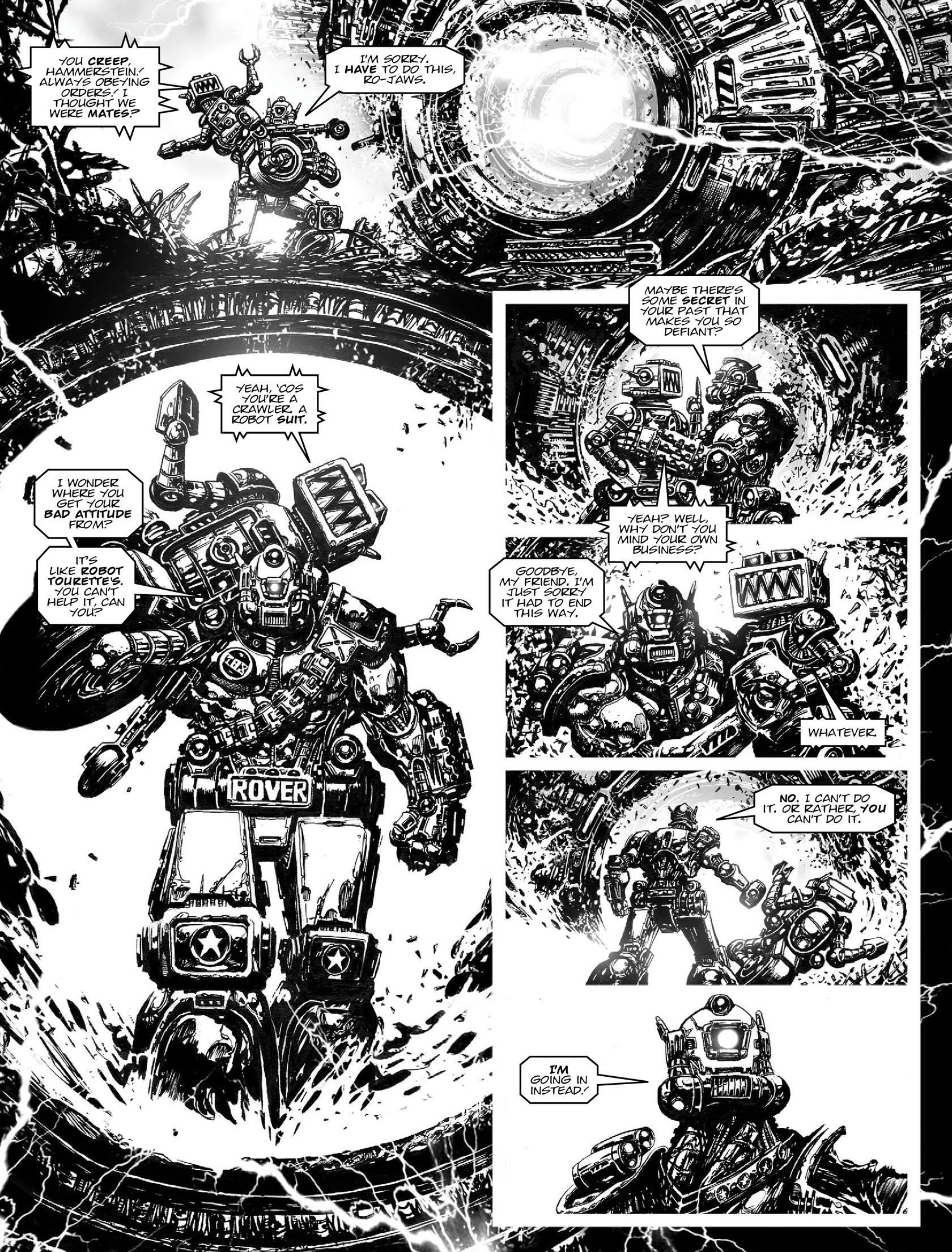 Read online 2000 AD comic -  Issue #1962 - 17