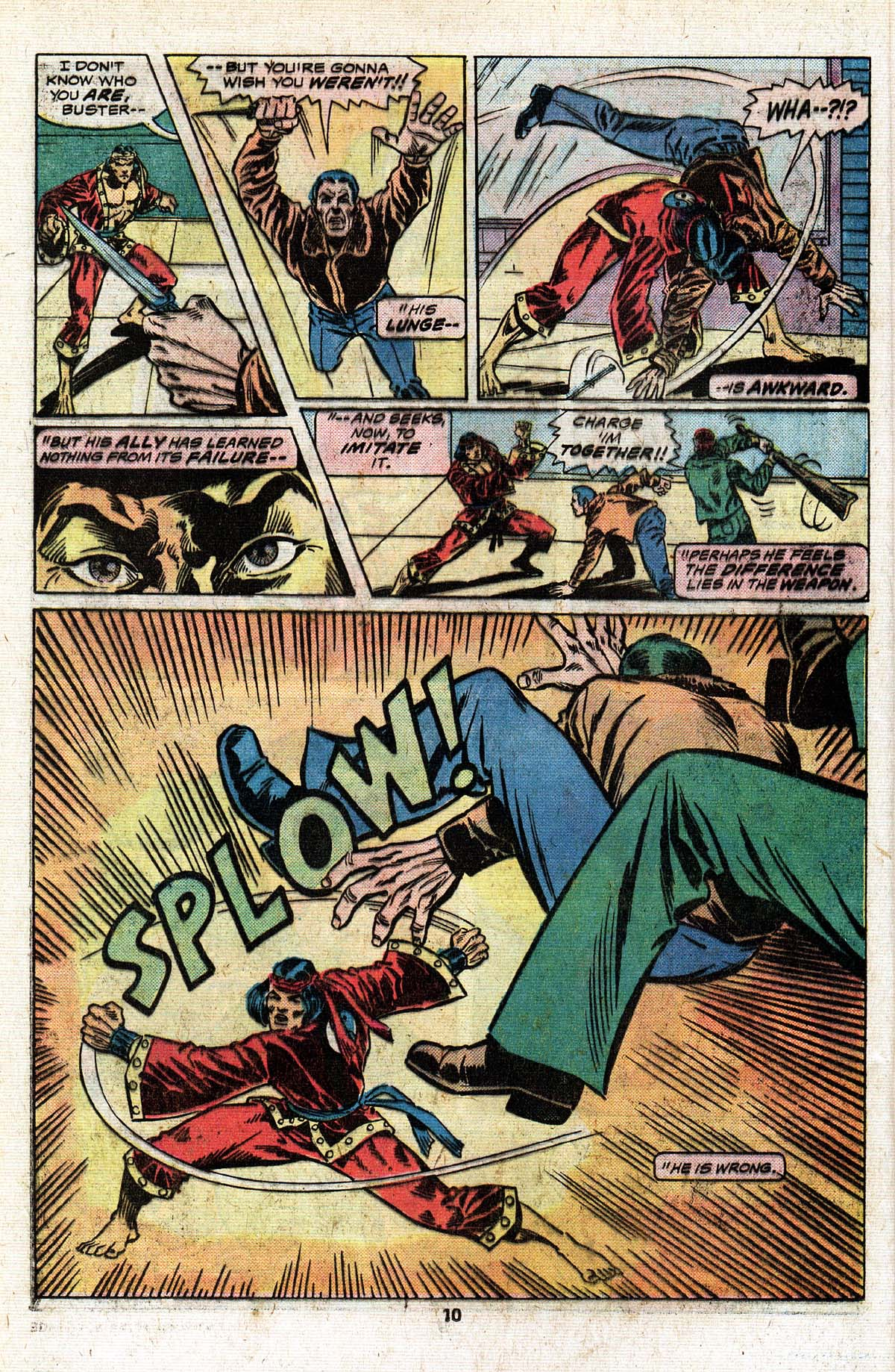 Read online Giant-Size Master of Kung Fu comic -  Issue #4 - 9