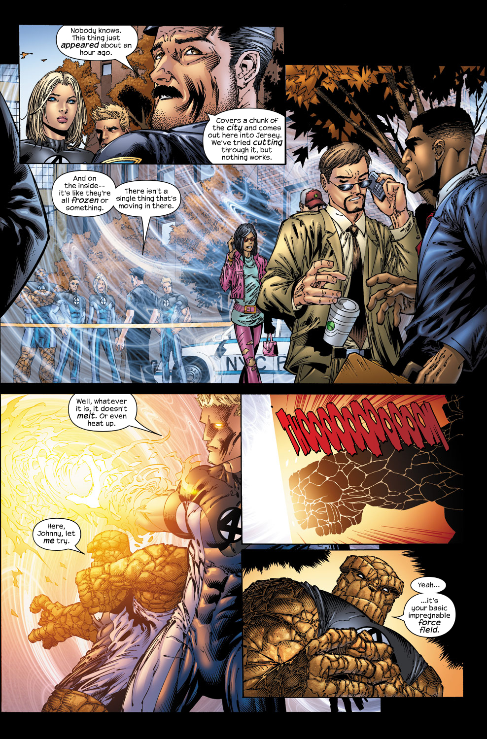 Read online Ultimate Fantastic Four (2004) comic -  Issue #50 - 7