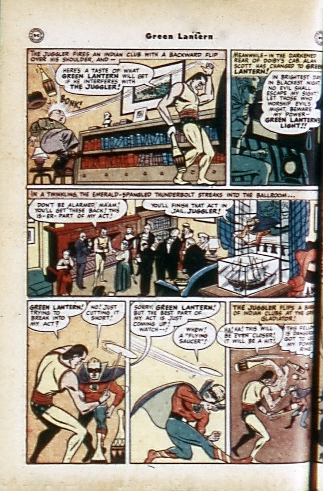 Green Lantern (1941) Issue #32 #32 - English 6