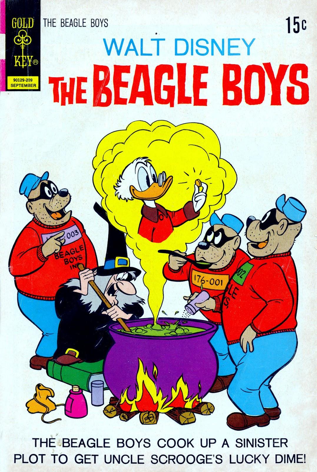 Walt Disney THE BEAGLE BOYS issue 14 - Page 1