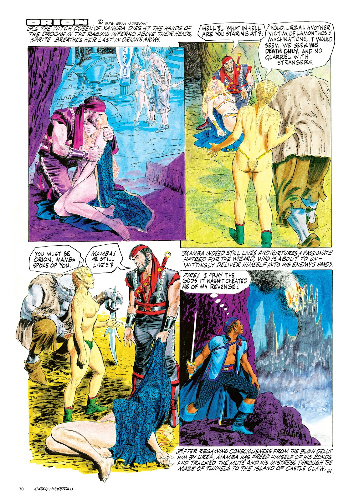Read online Orion and Edge of Chaos comic -  Issue # TPB - 71