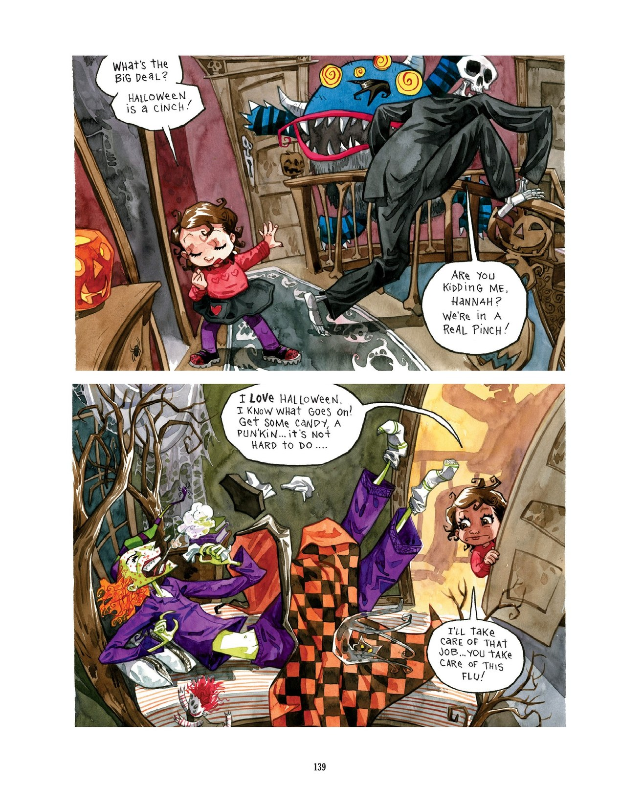 Read online Scary Godmother comic -  Issue # TPB - 139