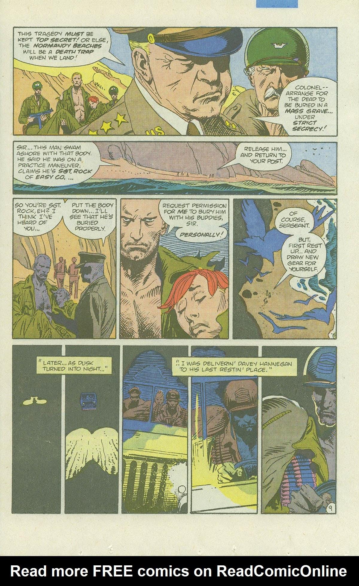 Read online Sgt. Rock comic -  Issue #422 - 14