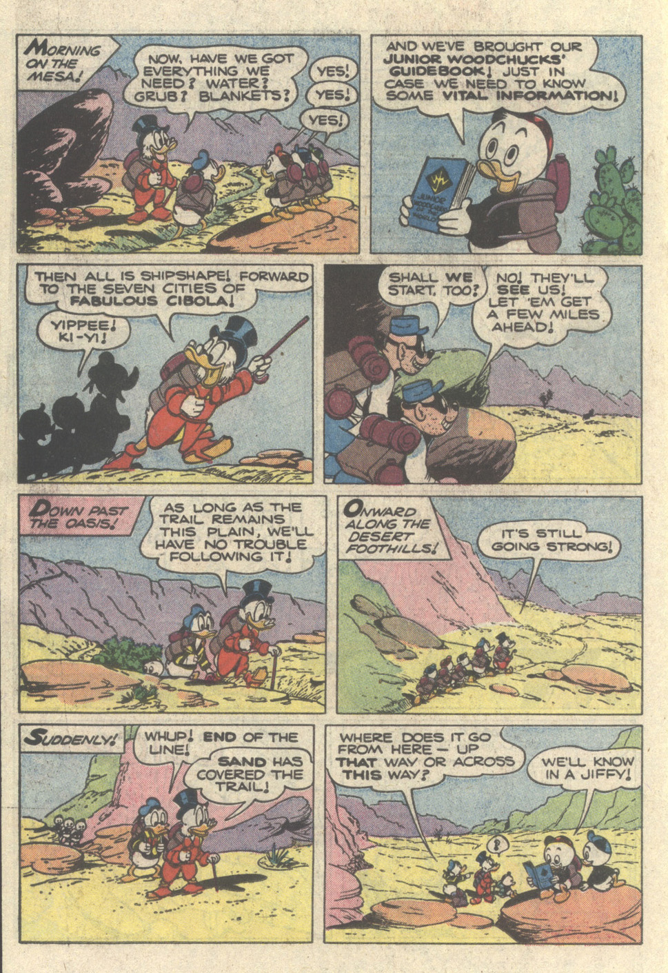 Read online Uncle Scrooge (1953) comic -  Issue #217 - 18