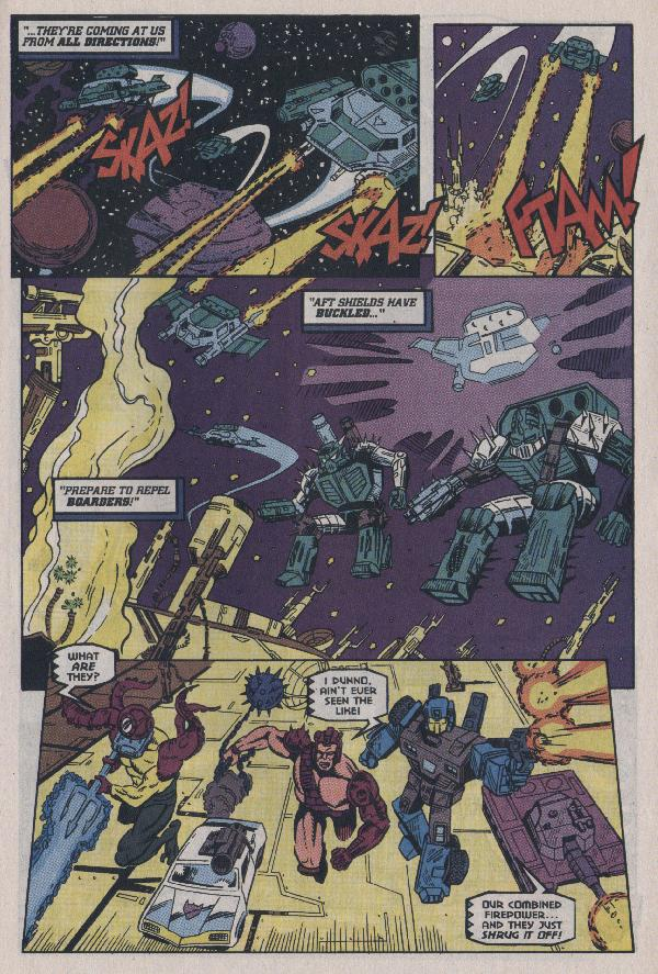 Read online Transformers: Generation 2 comic -  Issue #7 - 12