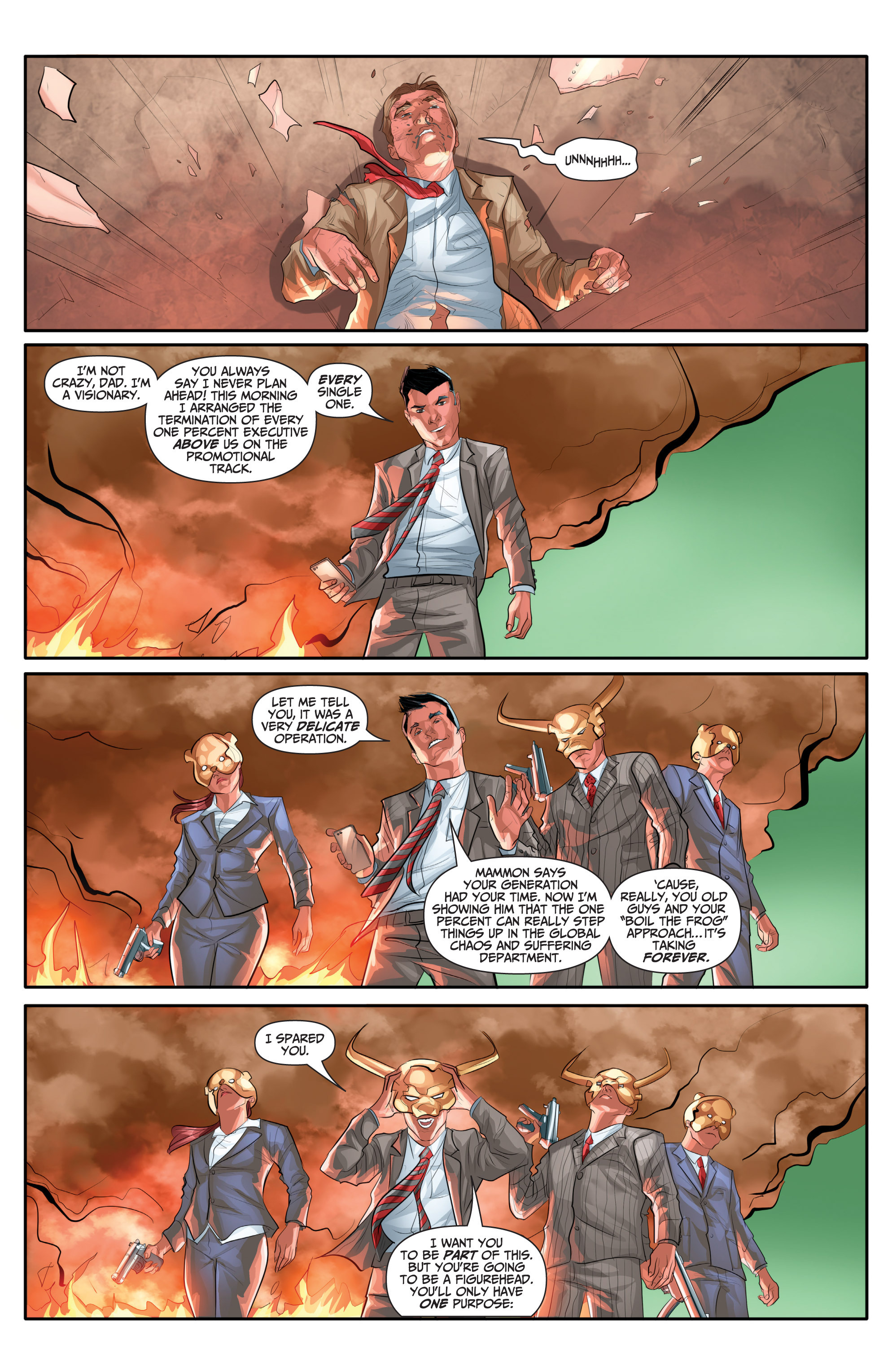 Read online Archer and Armstrong comic -  Issue #Archer and Armstrong _TPB 7 - 72
