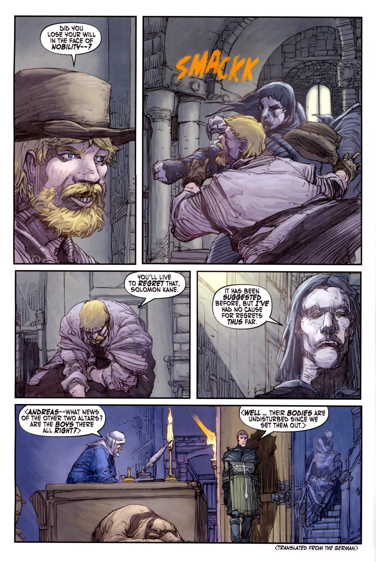 Read online Solomon Kane comic -  Issue #3 - 12