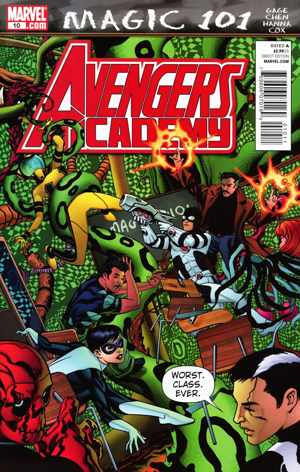 Avengers Academy issue 10 - Page 1