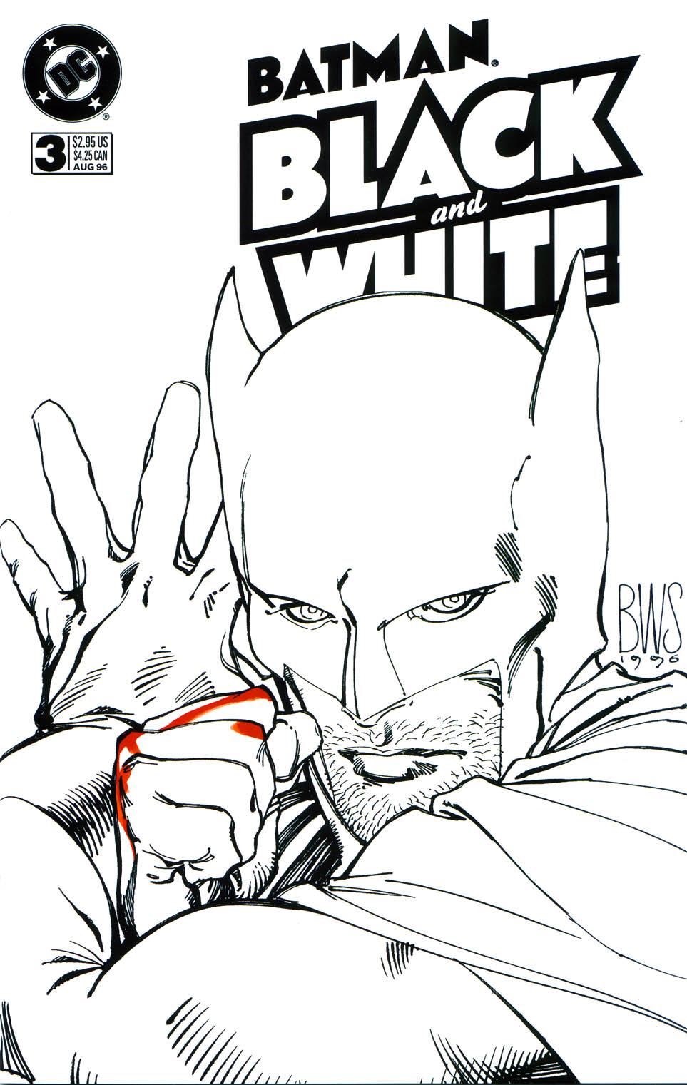 Batman Black and White (1996) 3 Page 1