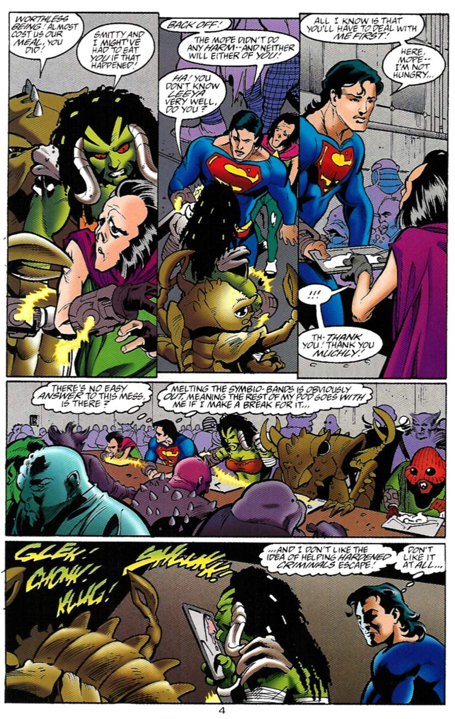 Read online Adventures of Superman (1987) comic -  Issue #529 - 5