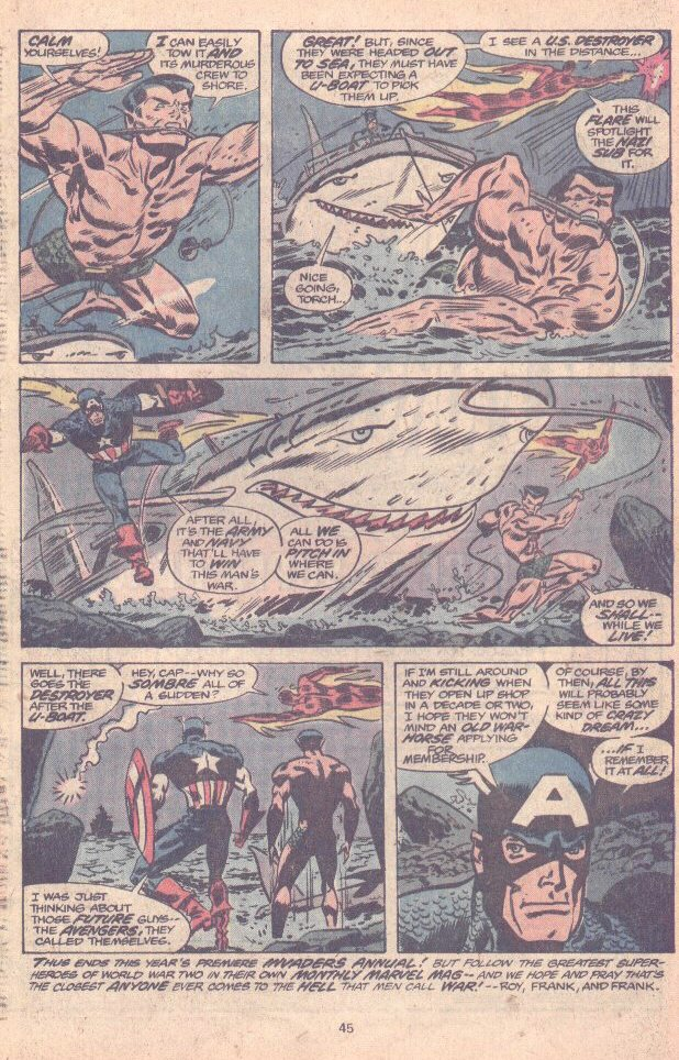 The Invaders (1975) issue Annual 1 - Page 34