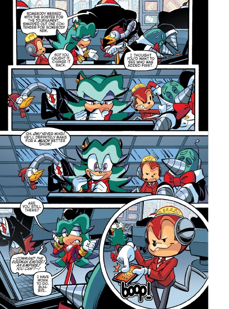 Read online Sonic Comics Spectacular: Speed of Sound comic -  Issue # Full - 4