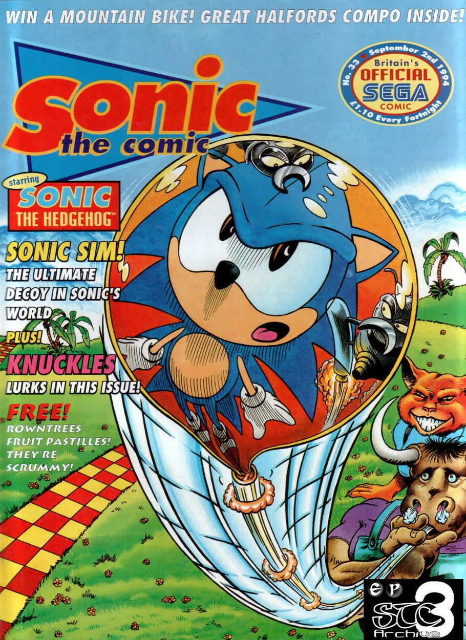 Read online Sonic the Comic comic -  Issue #33 - 1