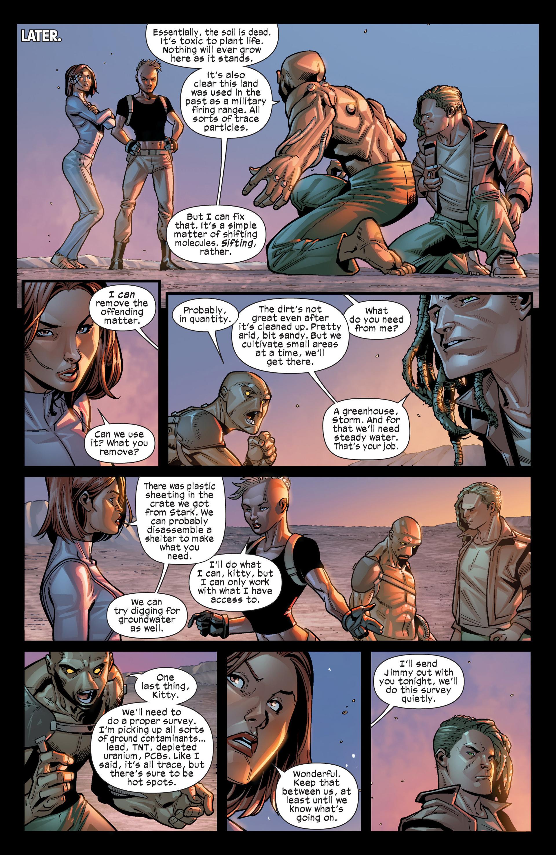 Read online Ultimate Comics X-Men comic -  Issue #19 - 16