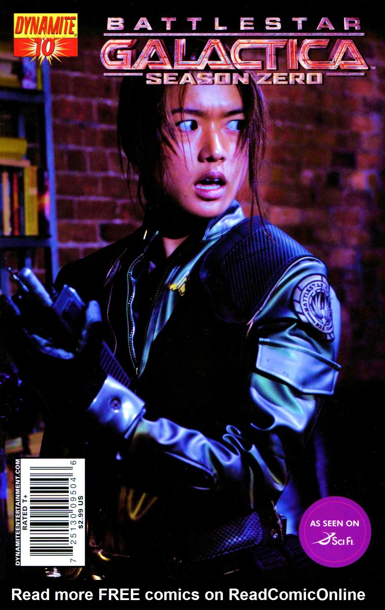 Battlestar Galactica: Season Zero 10 Page 1