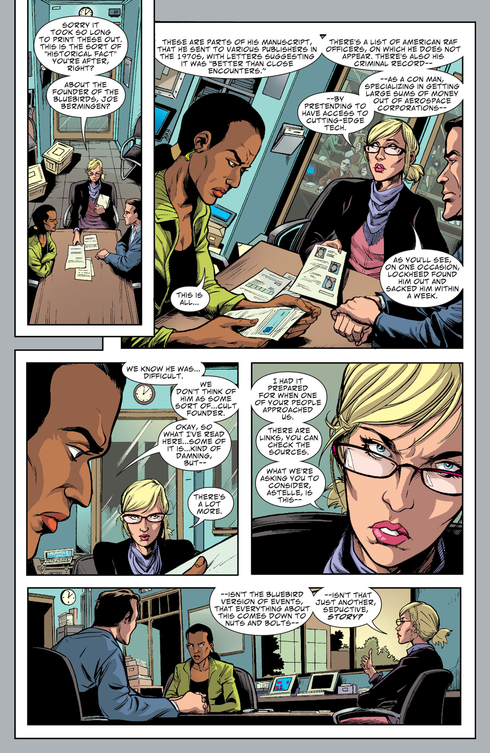 Read online Saucer Country comic -  Issue #13 - 15
