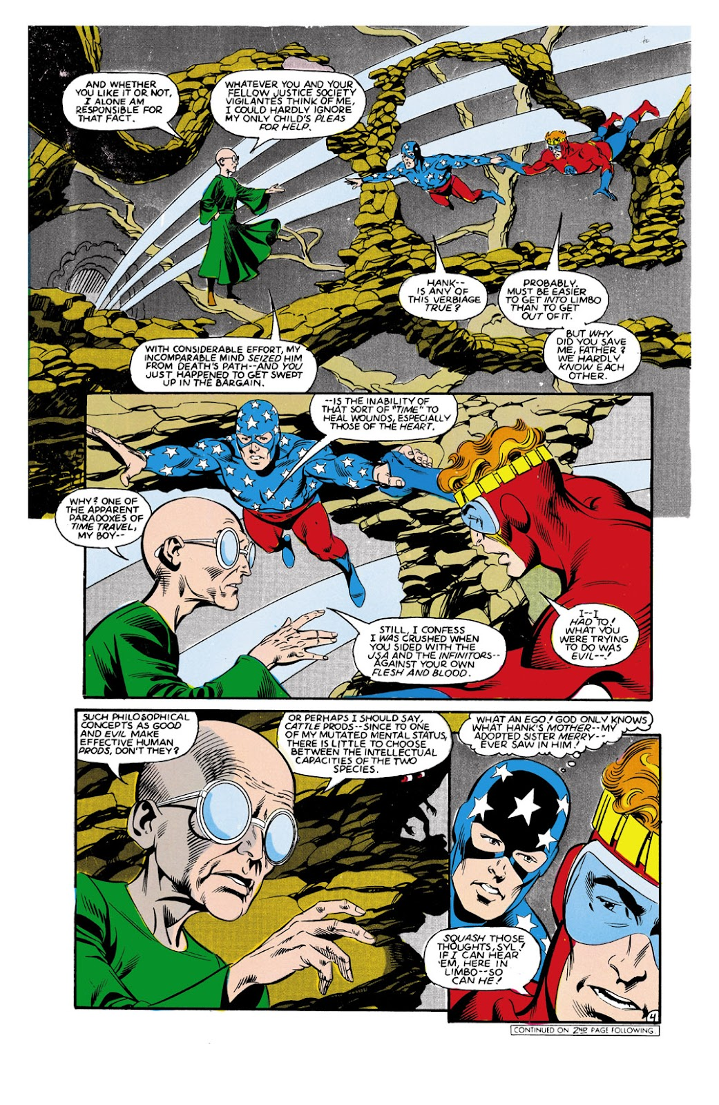 Infinity Inc. (1984) issue 9 - Page 4