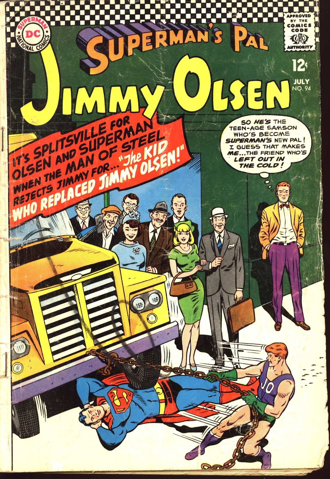 Supermans Pal Jimmy Olsen (1954) 94 Page 1