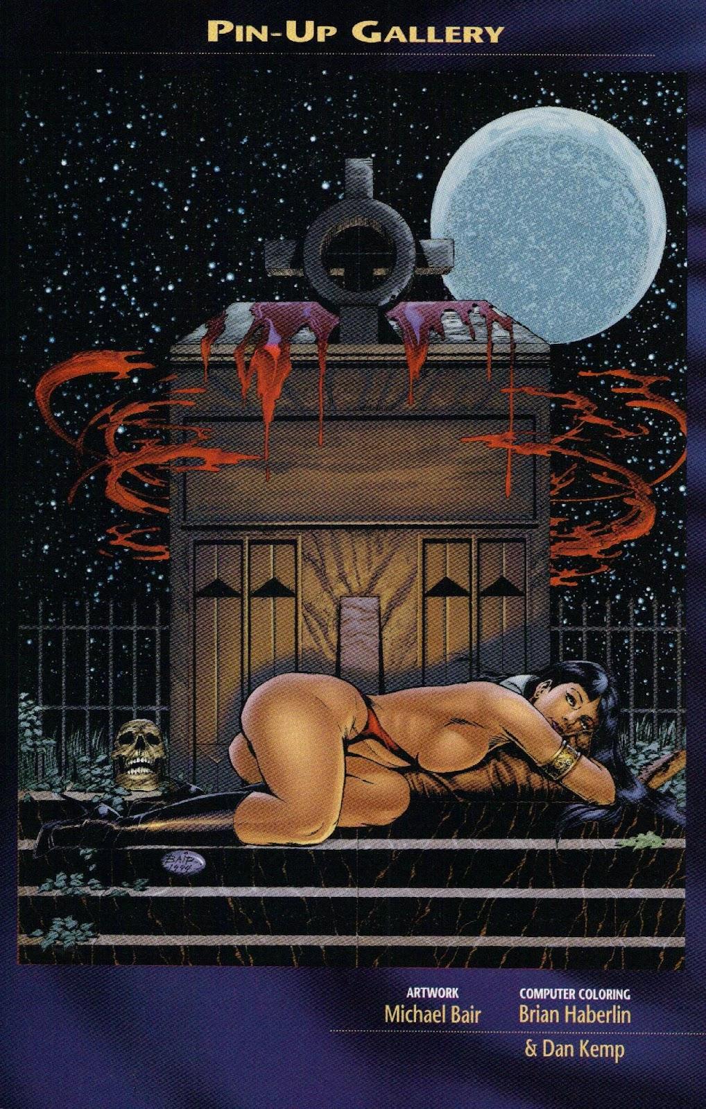 Vampirella vs Hemorrhage issue 1 - Page 26