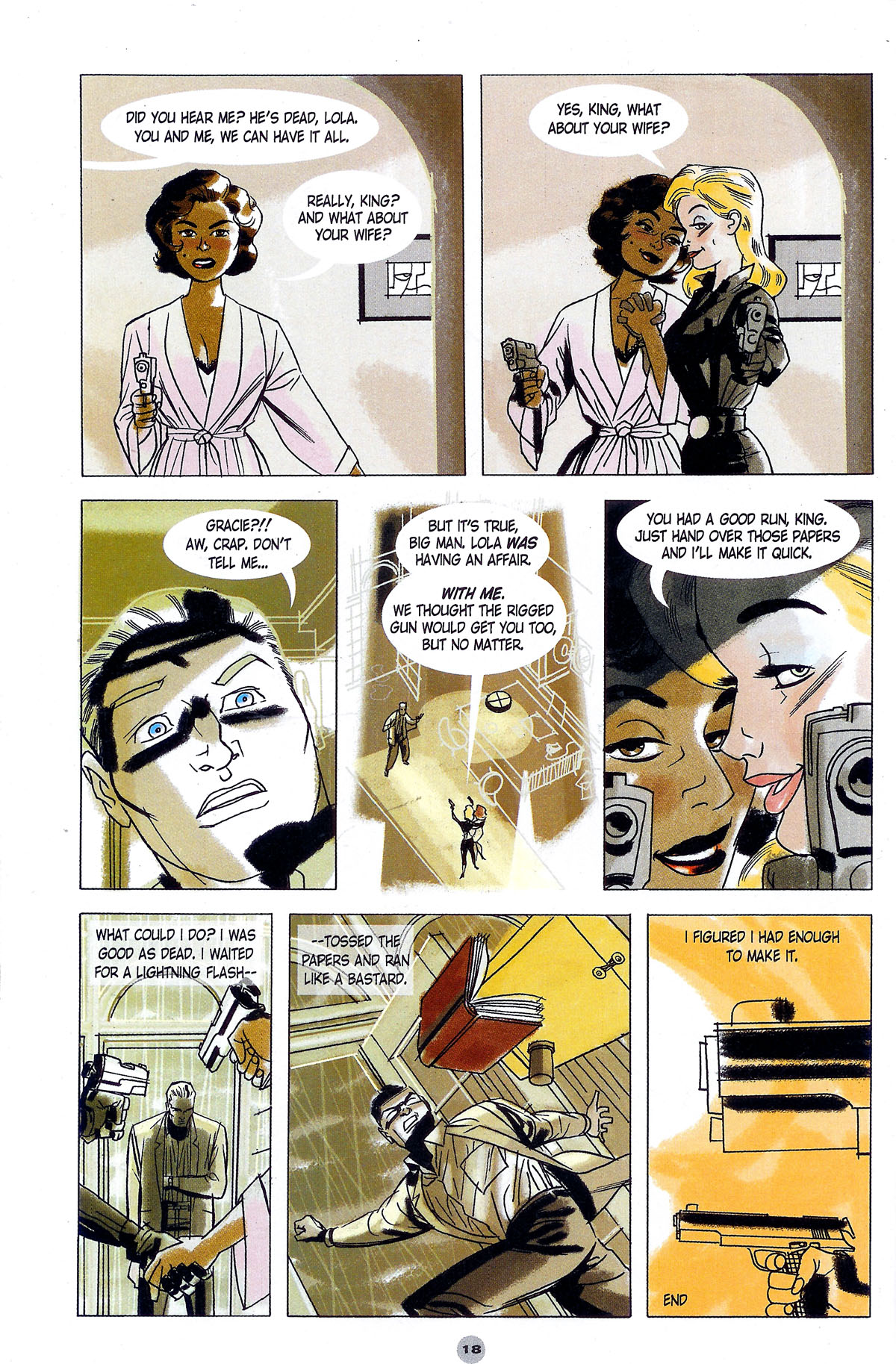 Read online Solo (2004) comic -  Issue #5 - 19