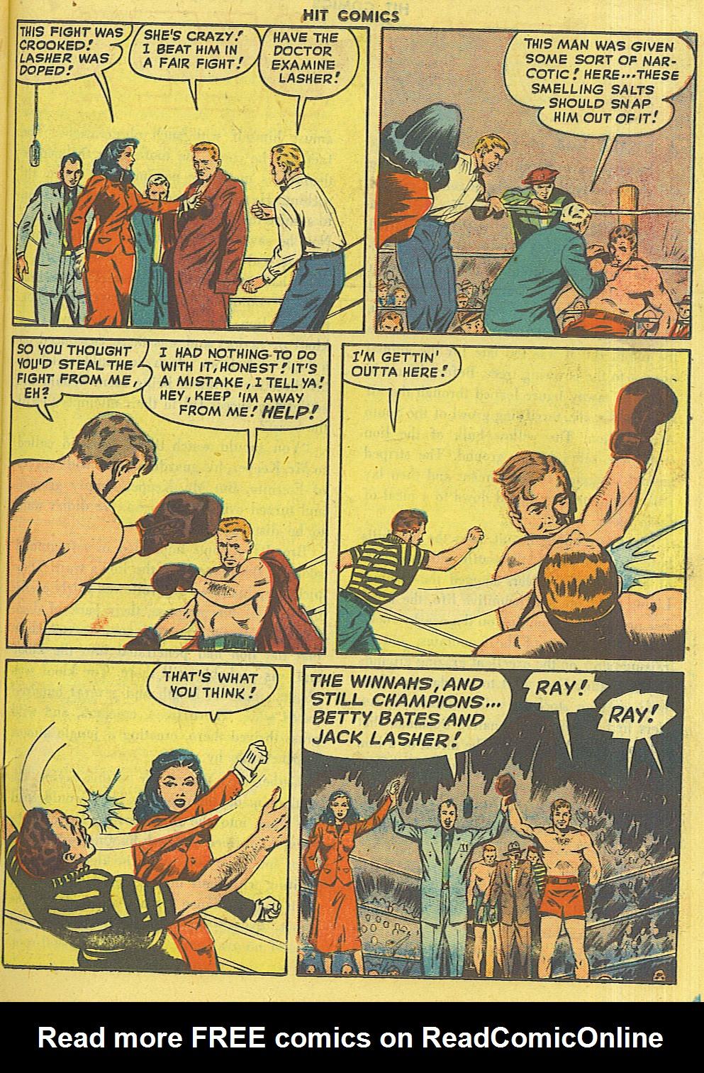 Read online Hit Comics comic -  Issue #56 - 37