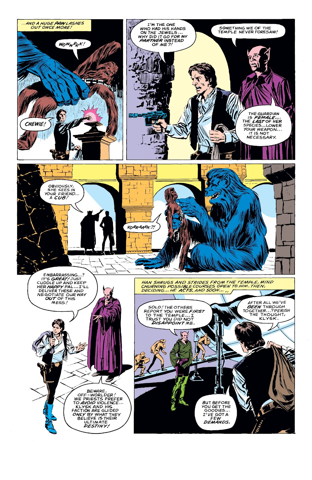 Read online Star Wars Legends: The Original Marvel Years - Epic Collection comic -  Issue # TPB 3 (Part 3) - 52