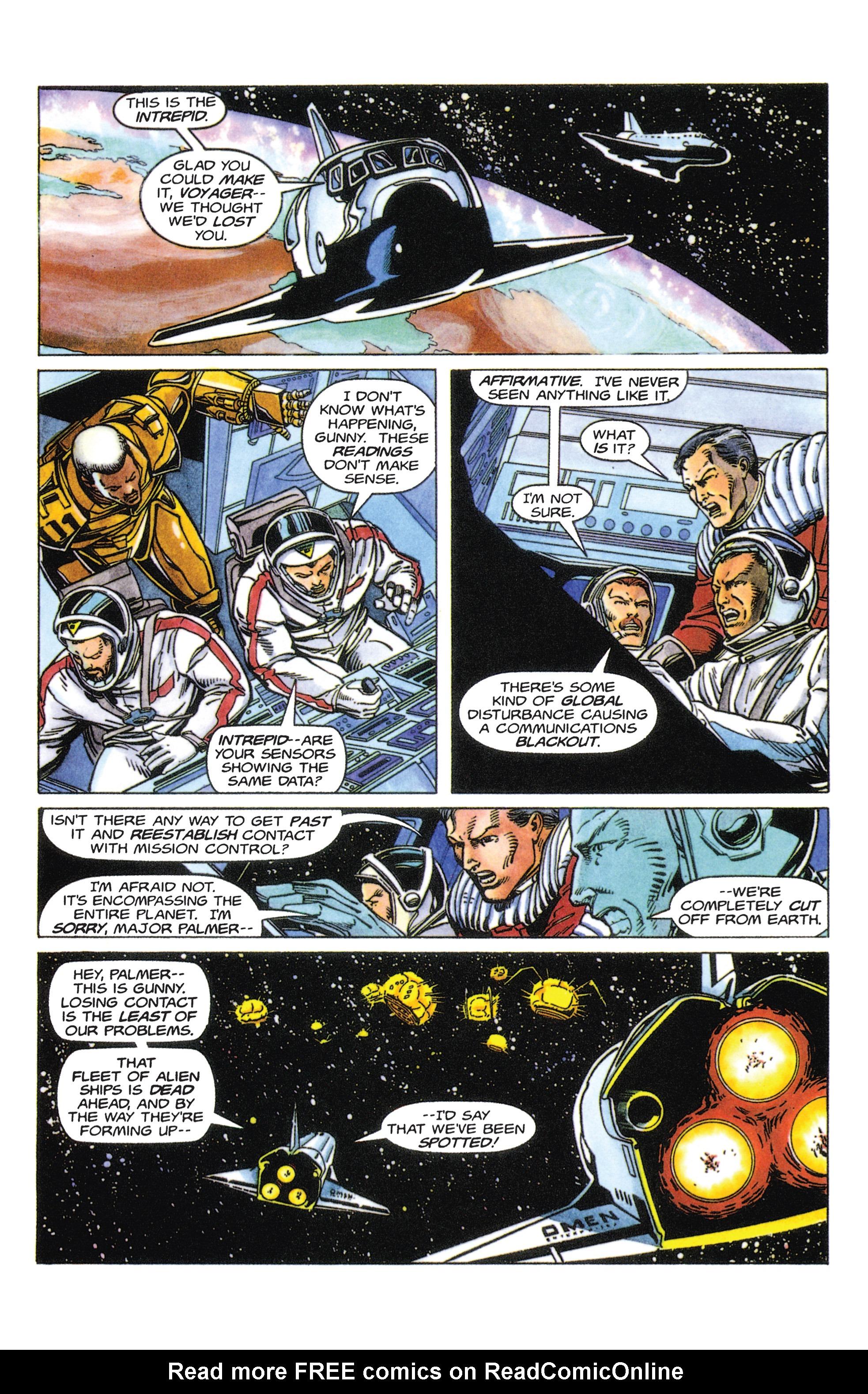 Read online Armorines comic -  Issue #5 - 8