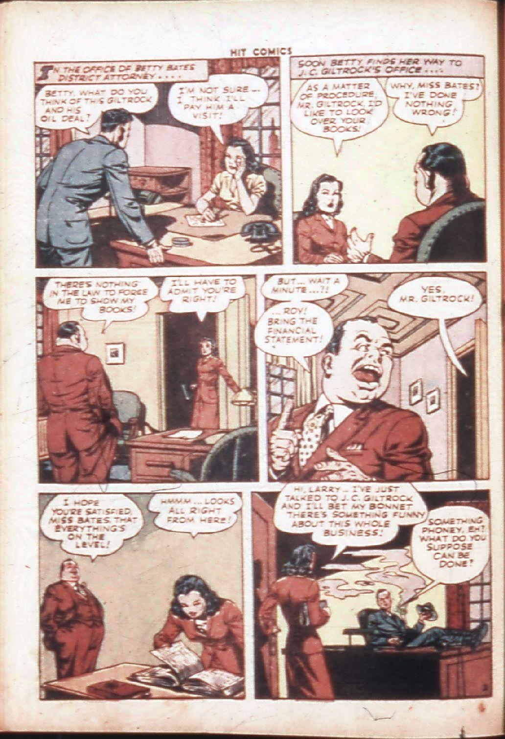 Read online Hit Comics comic -  Issue #30 - 21