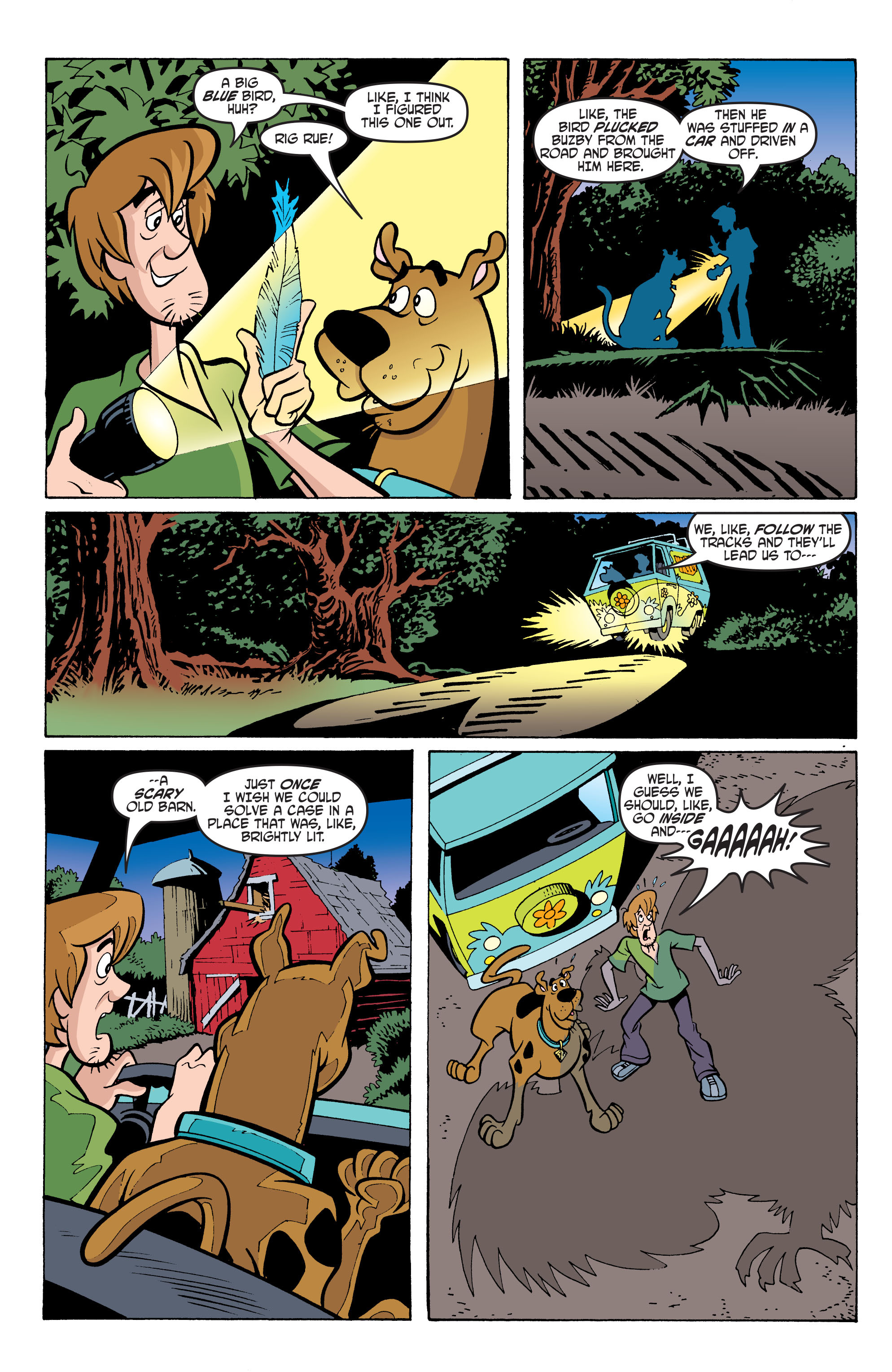 Read online Scooby-Doo: Where Are You? comic -  Issue #66 - 18