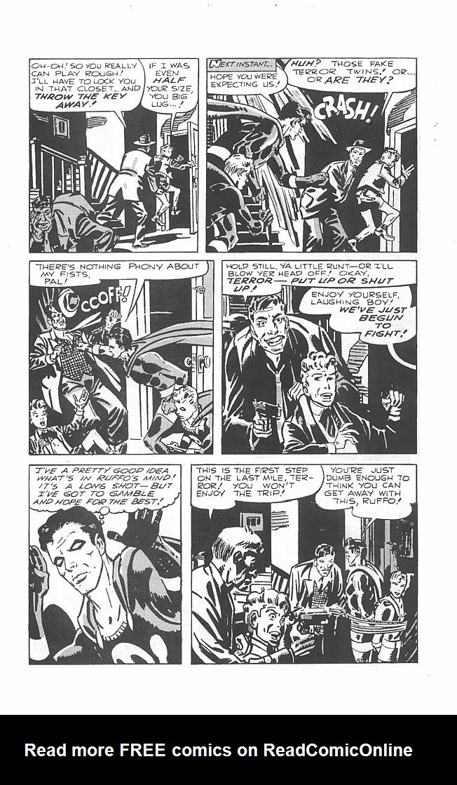 Read online Golden-Age Men of Mystery comic -  Issue #6 - 9