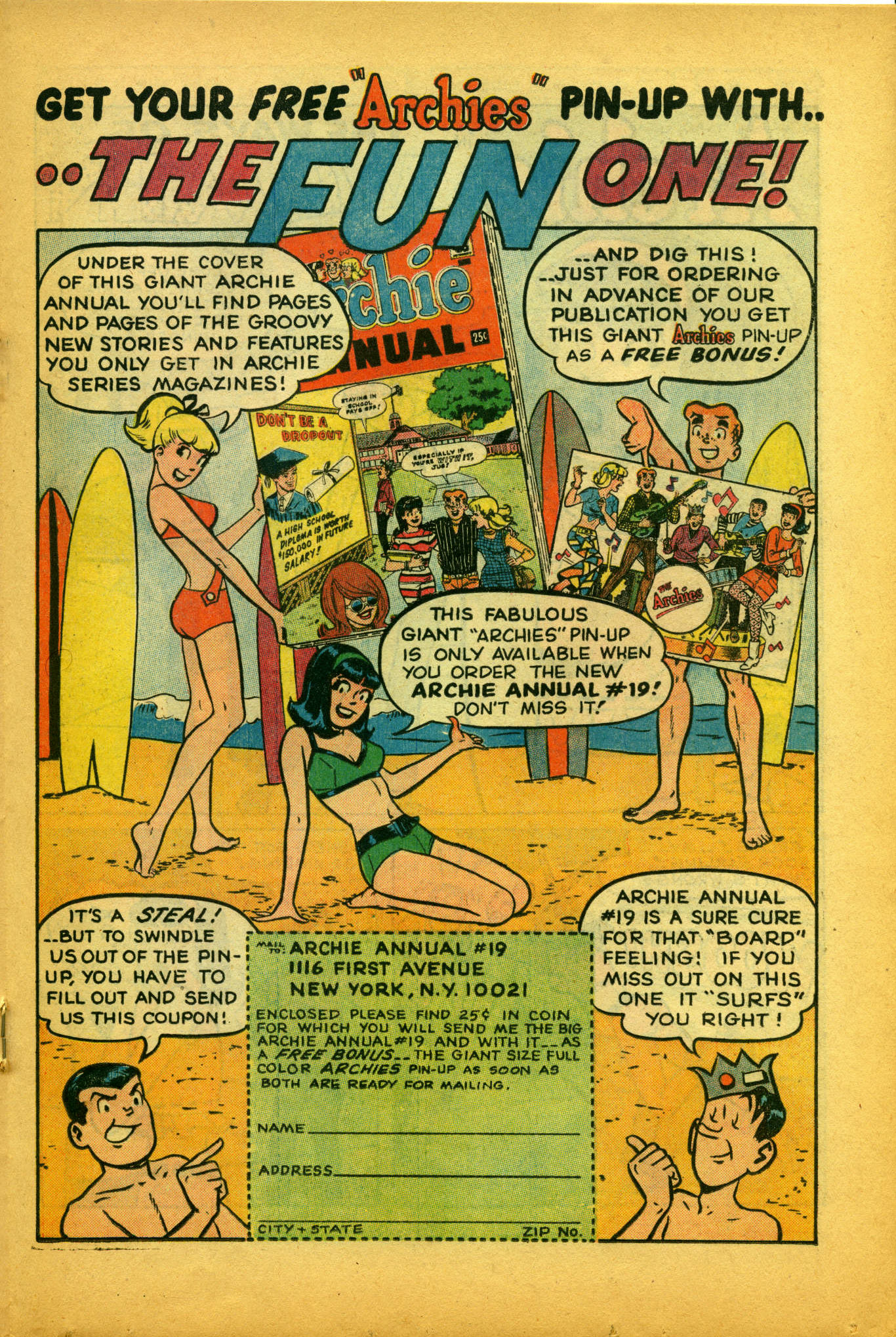 Read online Archie (1960) comic -  Issue #175 - 18