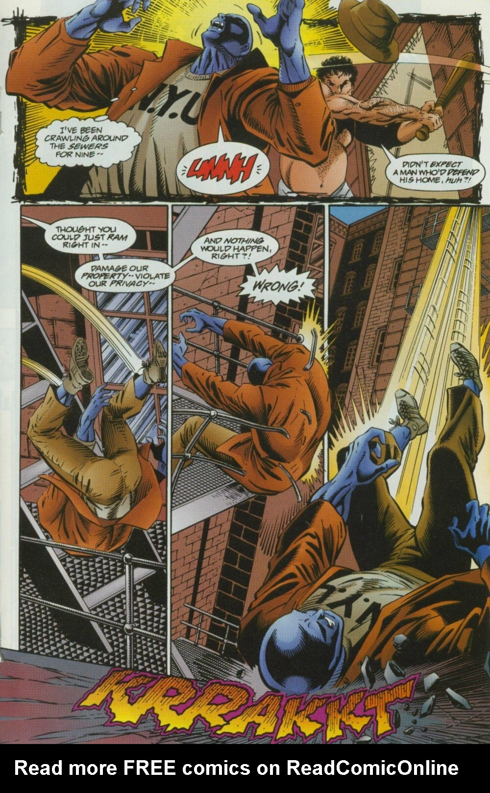Read online Sludge comic -  Issue #10 - 18