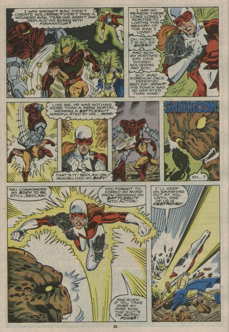 Read online Alpha Flight (1983) comic -  Issue #53 - 21