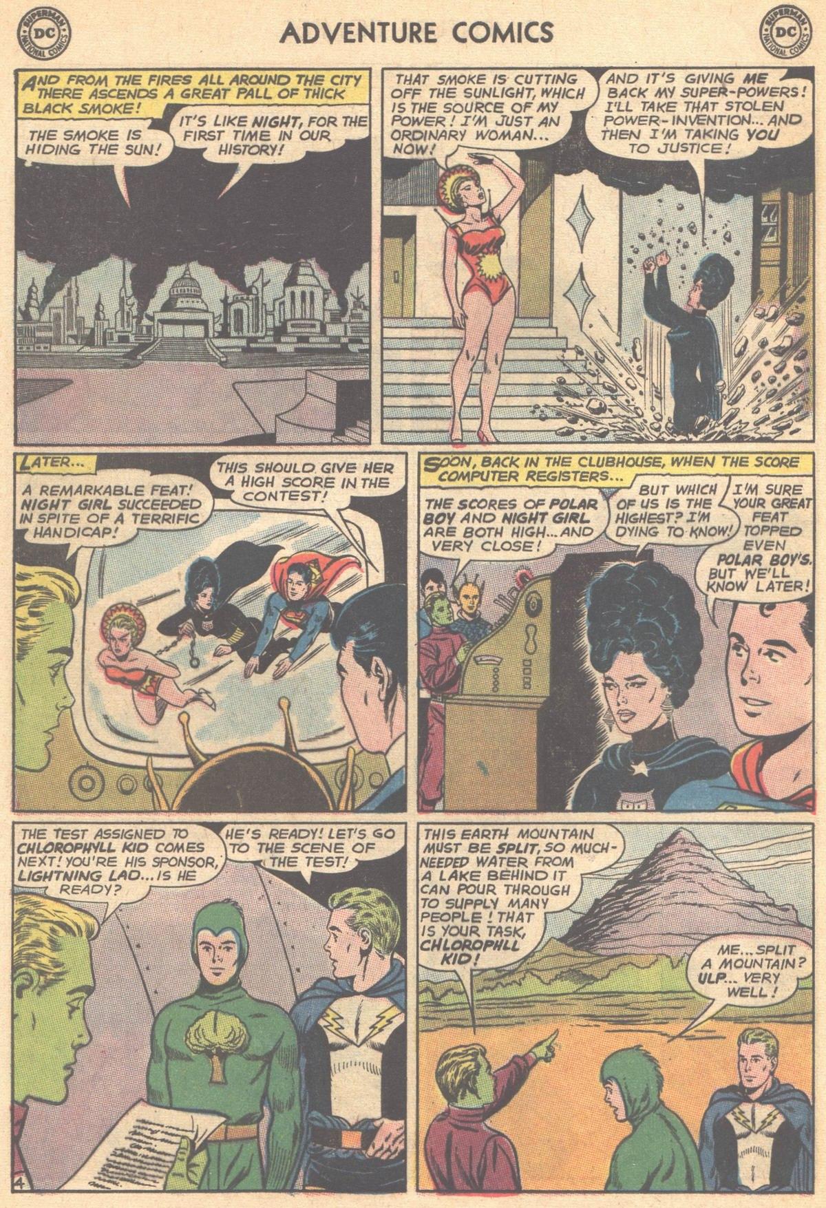 Read online Adventure Comics (1938) comic -  Issue #501 - 93