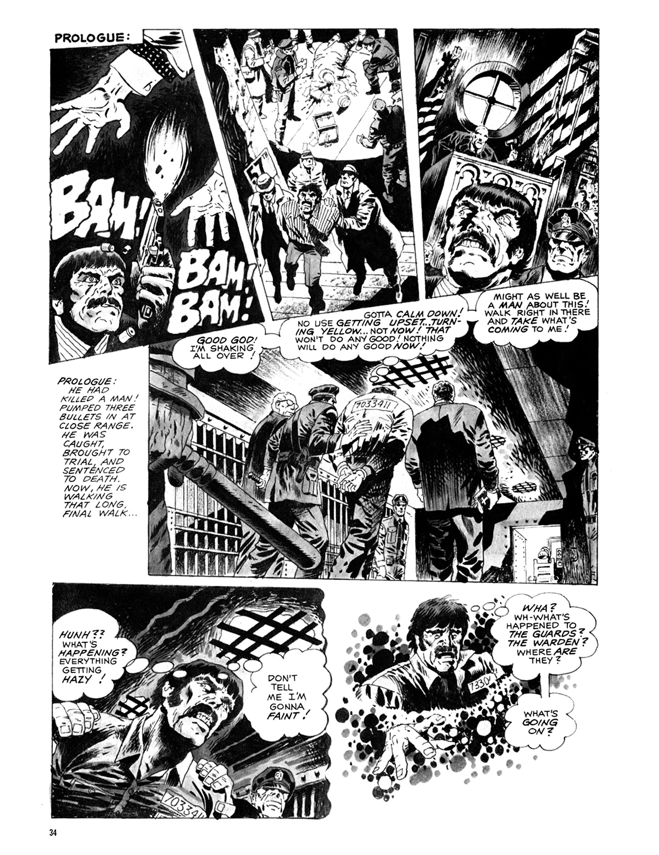 Read online Eerie Archives comic -  Issue # TPB 9 - 35