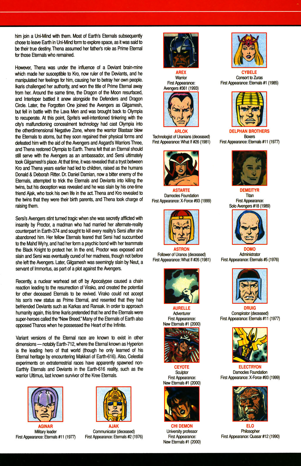 Read online All-New Official Handbook of the Marvel Universe A to Z comic -  Issue #4 - 19