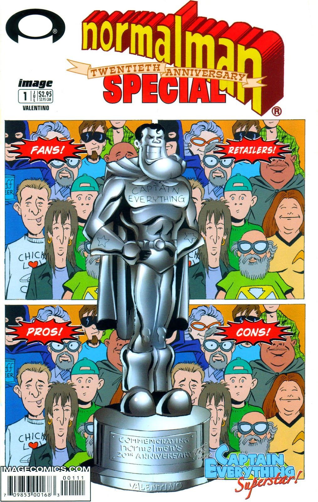 Read online Normalman 20th Anniversary Special comic -  Issue # Full - 1