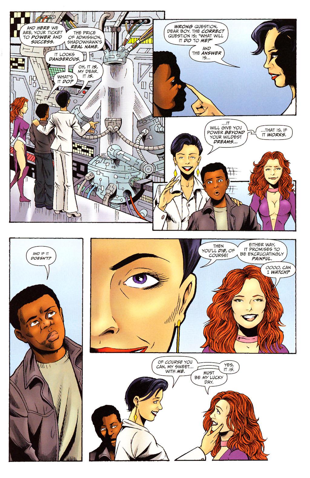 Read online ShadowHawk (2005) comic -  Issue #15 - 14