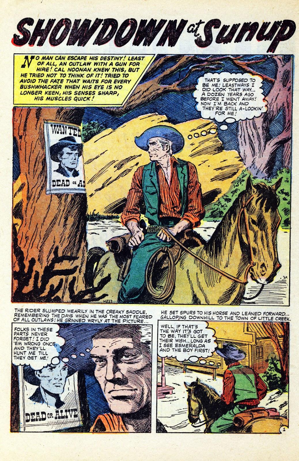 Gunsmoke Western issue 32 - Page 10