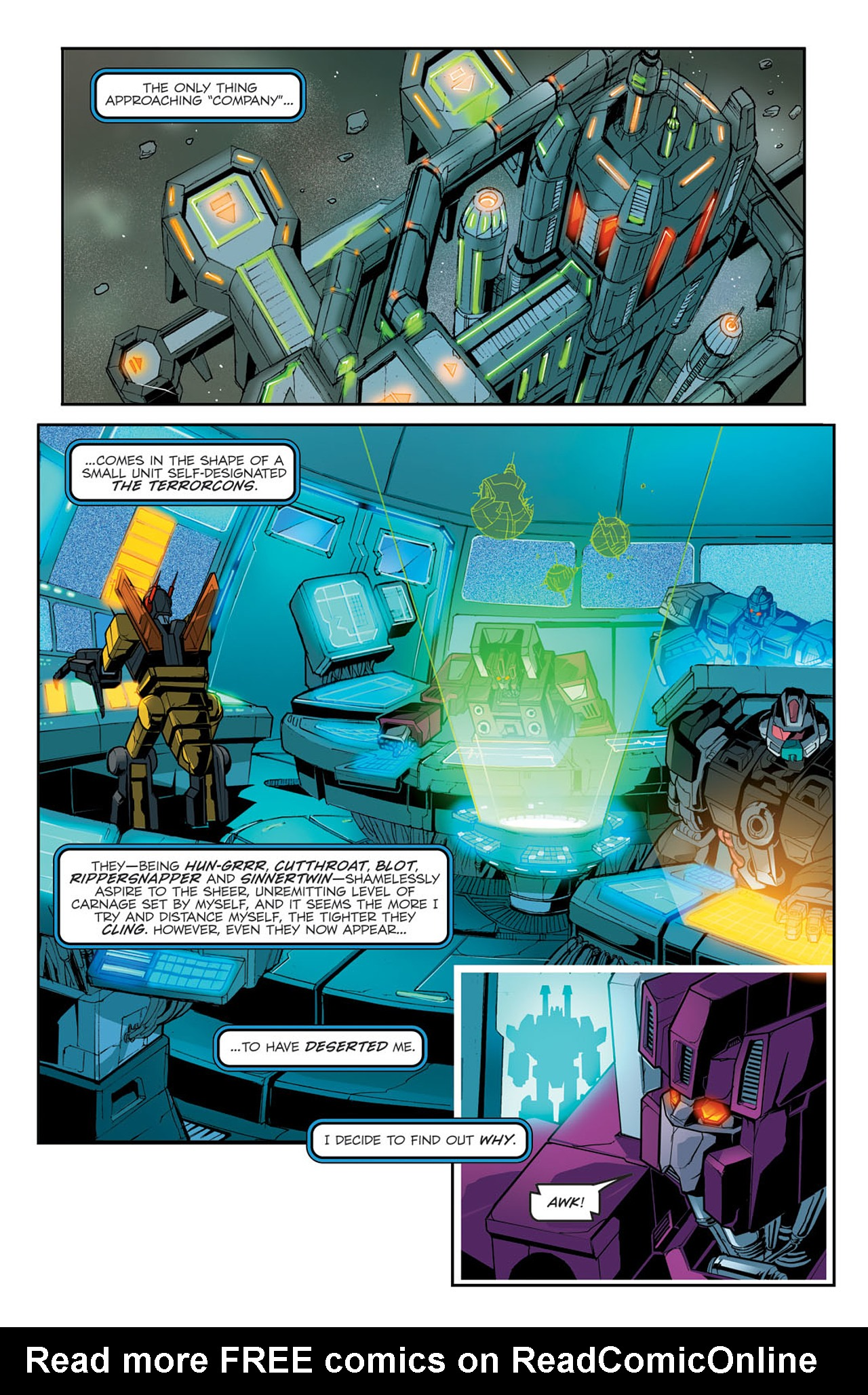 Read online Transformers Spotlight: Sixshot comic -  Issue # Full - 7