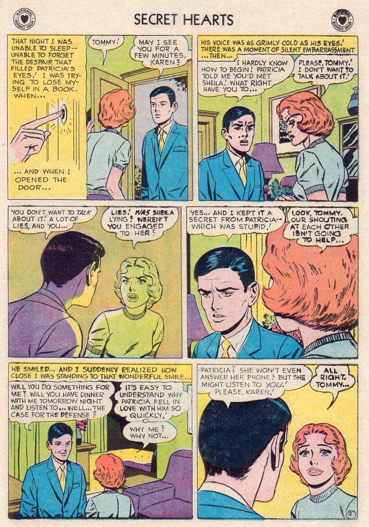Read online Secret Hearts comic -  Issue #46 - 13