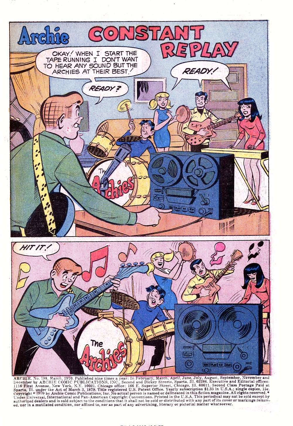 Read online Archie (1960) comic -  Issue #198 - 3